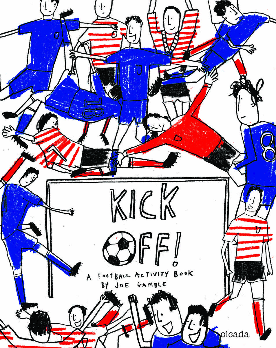 Kick Off! : A Football Activity Book   Squishy Minnie Bookstore